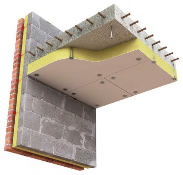 Fire Protection for Concrete Soffit